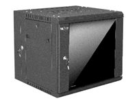 Nexxt 09U SKD Wall Mount Enclosure W600mm D550mm Black