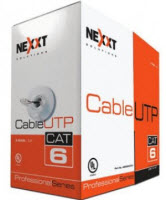 NEXXT Cable red  4 pares CAT6  Azul 303M