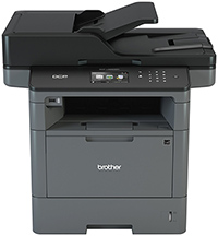 BROTHER MFP LASER DCPL5650DN B-N/42 PPM/USB/DUPLEX/RED