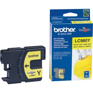 TINTA BROTHER LC980Y Yellow