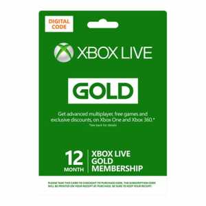 MSF Xbox Live 12 month digital FG CIS Online Product Key Lic