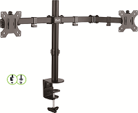 "KX Brkt Adj KPM-310 Double Monitor mount 13""-32"""