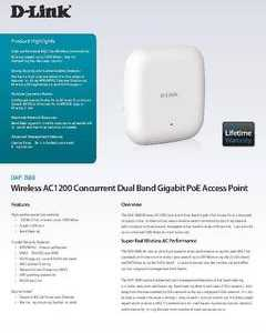 Punto de Acceso o  WIRELESS AC1200 CONCURRENT DUAL-BAND - DAP-2660
