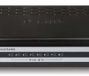 Switch D-Link  8-PORT FAST ETHERNET SWITCH  -  DES-1008A
