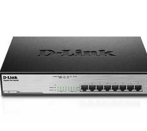 Switch D-Link  8-Port Desktop Gigabit PoE+ Switch  -  DGS-1008MP