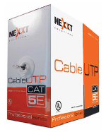 Nexxt UTP Cable 4 Pairs Cat5e 305mt Solid LAN CMX outdoor