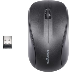Mouse Inalambrico KENSINGTON for Life Color Negro 3 boton - K72392